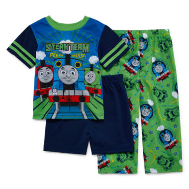 jcpenney.com | Thomas and Friends 3-pc. Pajama Set- Toddler Boys 2t-4t