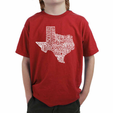 jcpenney.com | Los Angeles Pop Art Most Popular Cities In Texas Graphic T-Shirt Boys