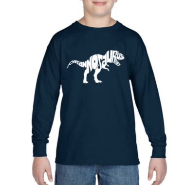 jcpenney.com | Los Angeles Pop Art Popular Dinosaur Name Graphic T-Shirt-Big Kid Boys