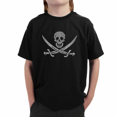 jcpenney.com | Los Angeles Pop Art A Legendary Pirate Song Graphic T-Shirt Boys