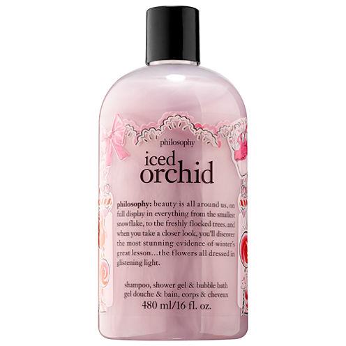 philosophy Iced Orchid Shampoo, Shower Gel & Bubble Bath