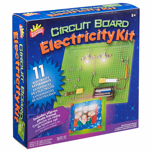 Scientific Explorer Electricity Kit Discovery Toy