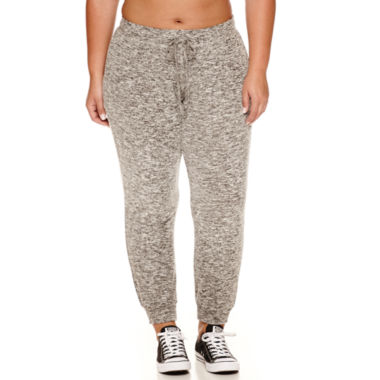 jcpenney.com | Flirtitude Cozy Fleece Jogger Pants- Juniors Plus