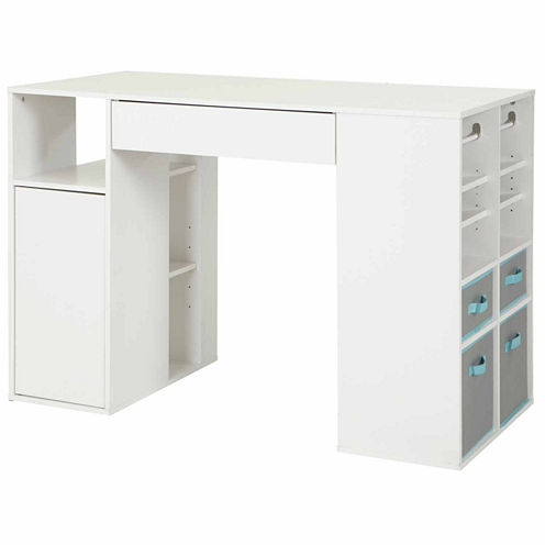 Crea Counter-Height Craft Table with Storage