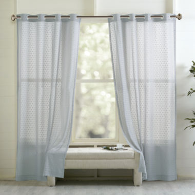 jcpenney.com | Madison Park Marie Grommet-Top Curtain Panel