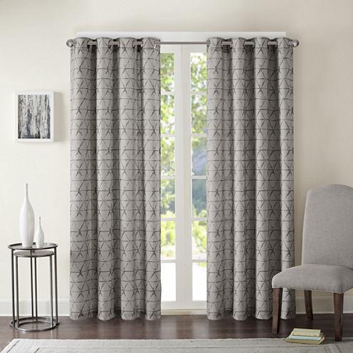 Adrian Grommet-Top Curtain Panel