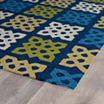 """Kaleen 5'X7'6"""" Porch Panel Hand Tufted Rectangle Rugs"""