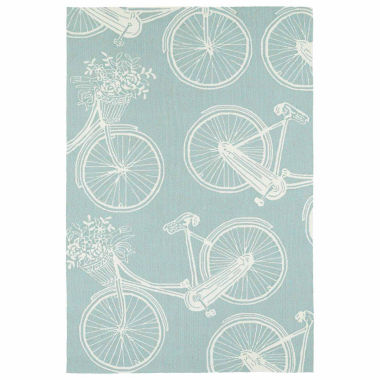 jcpenney.com | Kaleen Sea Isle Bicycle Hand Tufted Rectangular Rugs