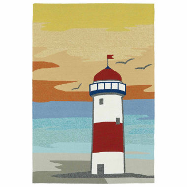 jcpenney.com | Kaleen Sea Isle Lighthouse Hand Tufted Rectangular Rugs