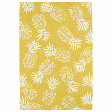 jcpenney.com | Kaleen Sea Isle Pineapple Hand Tufted Rectangle Accent Rug