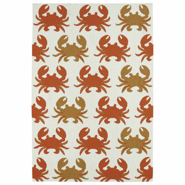 jcpenney.com | Kaleen Sea Isle Crab Hand Tufted Rectangle Accent Rug