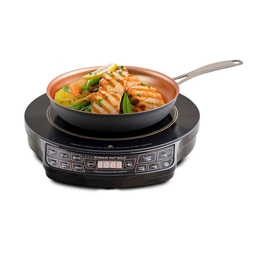 """NuWave 30242 PIC Gold Precision Induction Cooktopwith 10.5"""" Fry Pan"""""""