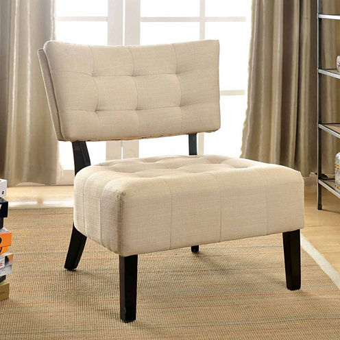 Calinda Contemporary Accent Chair