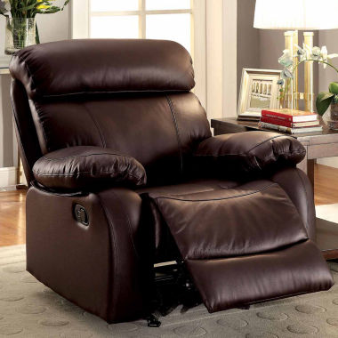 jcpenney.com | Leather Pad-Arm Chair