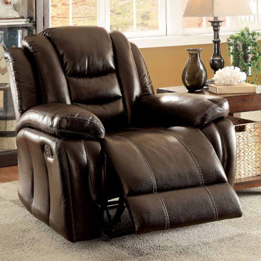 jcpenney.com | Faux Leather Pad-Arm Chair