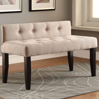jcpenney.com | Fabric Tufted Bench