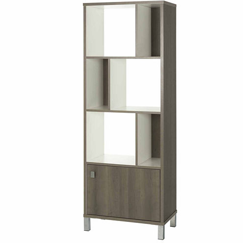 Expoz 6-Cube Shelving Unit with Door