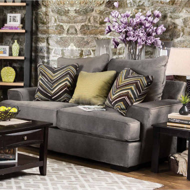 jcpenney.com | Fiorell Contemporary Pad-Arm Loveseat