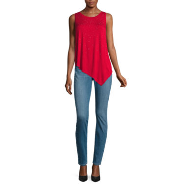 jcpenney.com | Bold Elements® Heat Stud Top or Side Stud Skinny Denim