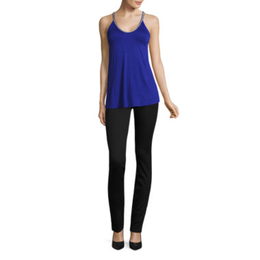 jcpenney.com | Bold Elements® Beaded V-Neck Top or Zip Front Skinny Denim