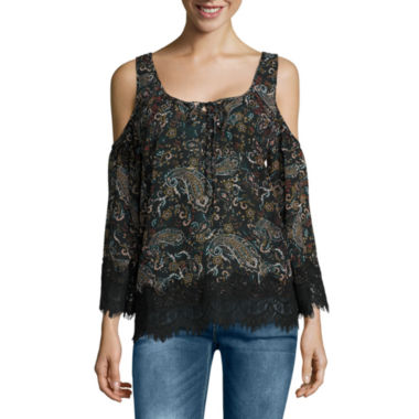 jcpenney.com | i jeans by Buffalo Cold Shoulder Top
