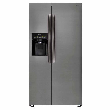 jcpenney.com | LG 26 cu. ft. Ultra Capacity Side-By-Side Refrigerator