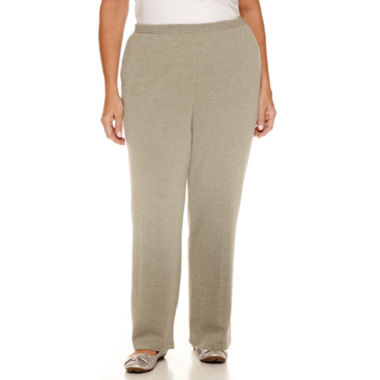 jcpenney.com | Alfred Dunner Sweet Nothings Knit Pull-On Pants