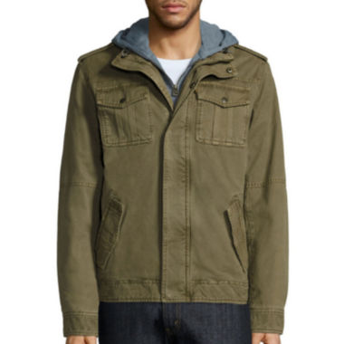 jcpenney.com | Levi's® Hooded Trucker Jacket