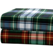 Premier Comfort Cozy Spun Regiment Print Sheet Set