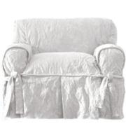 SURE FIT® Matelassé Damask 1-pc. Chair Slipcover