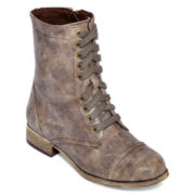 MIA girl  Parrade Lace-Up Fashion Boots
