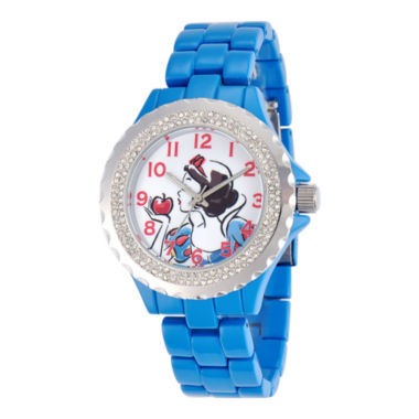 jcpenney.com | Disney Womens Snow White Blue Enamel Watch