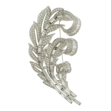 jcpenney.com | CZ by Kenneth Jay Lane Prince Of Wales Feather Pin