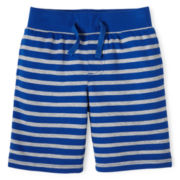 Okie Dokie® French Terry Shorts - Boys 12m-6y