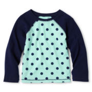 Arizona Raglan-Sleeve Tee - Girls 12m-6y