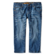 Arizona Studded Denim Capris - Girls 6-16 and Plus