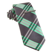 JF J. Ferrar® Lambeau Plaid Slim Tie
