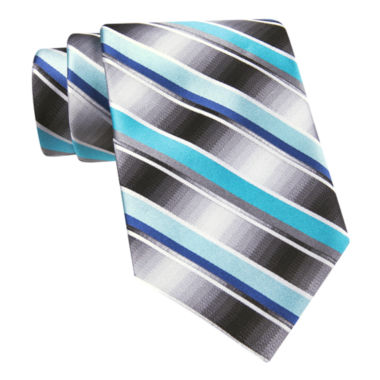 jcpenney.com | Van Heusen® Brave Striped Silk Tie – Extra Long