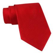 Stafford® Textured Neat Solid Necktie XL