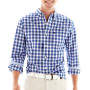 Stafford Prep® Desmond Buffalo-Checked Woven Shirt