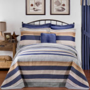 Retro Loft Quilted Bedspread  & Accessories