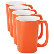 Rachael Ray® Round & Square Set of 4 Mugs