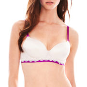 THE BODY Elle Macpherson Intimates SMOOTH Geometric Lace T-Shirt Bra