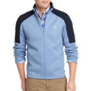 IZOD® Long-Sleeve Shaker Fleece Full-Zip Jacket