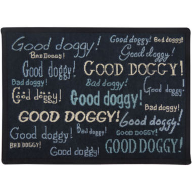 jcpenney.com | PB Paws by Park B. Smith® Doggy Praise Tapestry Pet Mat
