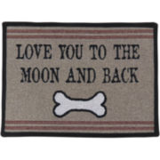 P.B. Paws by Park B. Smith Love You Pet Mat