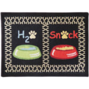 PB Paws by Park B. Smith® Snack Time Tapestry Pet Mat