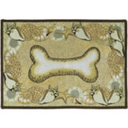 PB Paws by Park B. Smith® Seashell Bone Tapestry Pet Mat