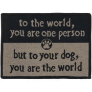 PB Paws by Park B. Smith™ To the World Tapestry Pet Mat