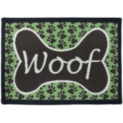 PB Paws by Park B. Smith™ Woof Tapestry Pet Mat